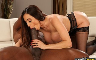 Ariella Ferrera loving every inch of this monster cock