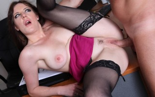 Samantha Bentley gets it up her tight ass hard