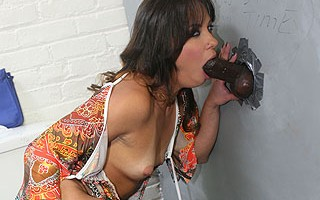 European slut gets her first black cock