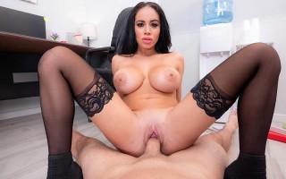 Victoria June Naughty Office POV Sex