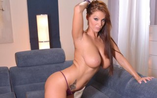 Sheila Grant toy fucks herself hard