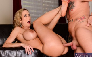 Brandi Love was hired on to tutor Ike, but Ike has no intent on studying. Ike wants to be a porn star and he thinks he has what it takes. Well Brandi was hired on to tutor Ike and if he needs help getting his porn career started than Brandi will make sure