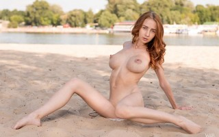 New talent Helga Gray from Ukraine