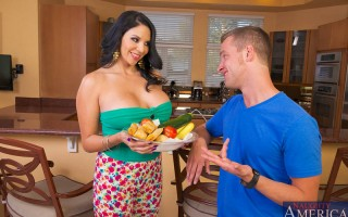 Missy Martinez is the head of the neighborhood welcoming committee and she stops by to welcome Van to the neighborhood with her famous tamales. She starts getting a little flirtatious with Van since her husband is out of town. When her titties start poppi