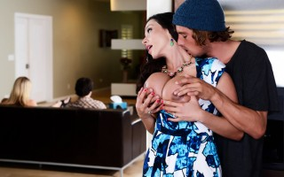 Ariella Ferrera is a horny widow that missed the feel of a stiff cock between her huge tits and her silky thighs, but she doesn\'t want to upset her family by getting into a new relationship. But when she hears that her daughter\'s boyfriend Tyler is achi