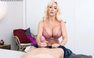 Mature blonde Victoria Lobov has Sex With A Stranger