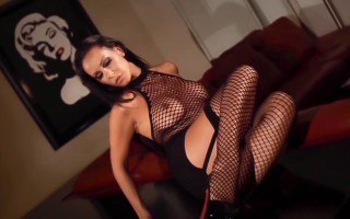 Laly Valade shows off her hot french body in this solo scene