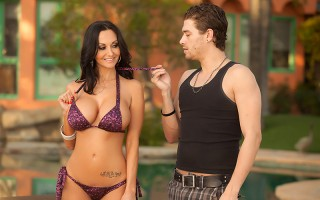 Xander Corvus fixes pools for a living, and Ava Addams is the busty MILF he's been sent to help out. Luckily for him, though, she's more interested in his big dick than his skills as a contractor! Ava takes out her glorious big tits and Xander sucks and f