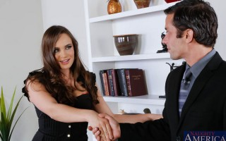 Alan is in Teal's office for an interview. Teal arrives late but, remembers what Alan was there for. She questions Alan about his previous position and why he left or was let go at the company. Alan was involved in a affair with his previous boss! Th