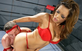 It's been a wild couple of days. Francesca Le recently lost her title because of Jordan. It's a crazy world, and now she's pissed. She's gonna teach Jordan a lesson. Time to kick some ass!!! and suck some dick...and have sex with Jordan.