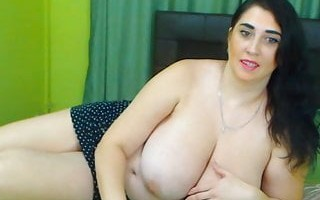 Fat chick with monster tits
