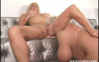 Claudia-Marie eats Karen Fisher\'s shaved pussy