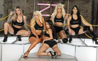 Bridgette B, Gina Valentina, Karma Rx, Lela Star & Nicolette Shea Brazzers House 3