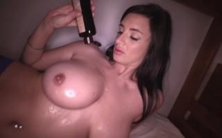 Cara Ruby Naked and Big Boobs Oiled